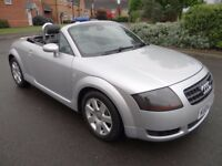 2004 Audi TT 1.8 T Roadster 2dr STUNNING CAR THROUGHOUT LOOK PART EX WELCOME