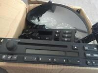 BMW 320d m sport clocks and switches.