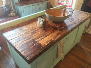Antique/Vintage Butcher Block Kitchen island