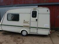 Xl elddis whirlwind 2 berth caravan