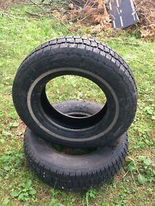 2 pneus d'hiver