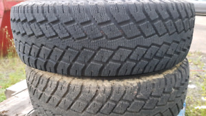 Two Nokian winter tires