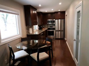 Basement for rent - close to U of R