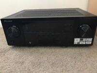 Pioneer AV Receiver and Sony speakers