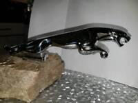 Classic Car Mascot - Jaguar Chrome 'Leaping' Mascot 1956-64 7 1/2 inches