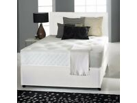 🔥💥**50 % OFF LIMITED TIME OFFER!**🔥💥BRAND NEW-Divan Double Bed With Economy Mattress, Drawers