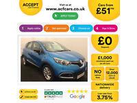 Renault Captur FROM £51 PER WEEK!