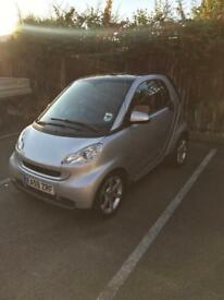 Smart Fortwo 1.0L Pulse MHD 2009 fully auto pan roof