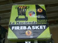 LA HACIENDA FIRE BASKET - NEW