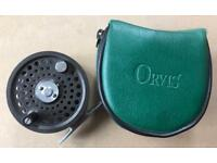 Orvis Battenkill 5/6 Fly Fishing Reel. Made in UK