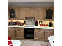 Kitchen for sale limed oak perfect condition