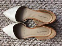 Flats white Redherring UK size 5/EU 38