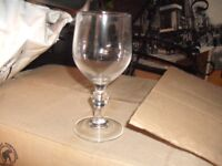 43 New and Boxed Identical Drinking Glasses (all perfect unused condition)
