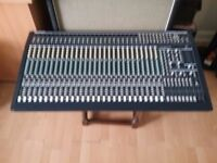 Behringer Eurodesk MX3282A 32 Chanel Mixing Desk and power supply