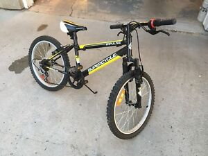 A almost new 20 inch bike for sale