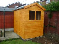 6ft x 4ft Shed NEW