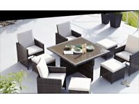 Naples 9 Piece Dining Set new in box