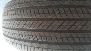 255-65-18 Bridgestone dueler pneu 4 saisons/season tires