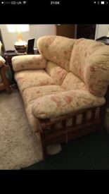 2 seater sofa and single chair NEED GONE ASAP £21 for both Ducal Quality Conservatory ?
