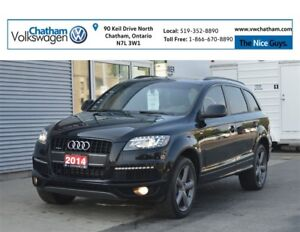 2014 Audi Q7 Progressiv S-Line Panoramic Roof Navigation