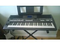 Yamaha professional keyboard,only owned for 3 months excellent condition with stand