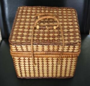 Wicker Picnic basket - great for picnics in the park / day trips
