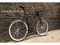 Special Offer GOKU CYCLES Steel Frame Single speed road bike TRACK bike fixed gear BIKE y9