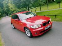 BMW 1 SERIES 120DIESEL SUOERB HISTORY EXCELLENT DRIVE 900 SPENT RECENTLY £2850 GOLF ASTRA AUDI