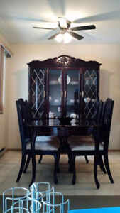 Beautiful solid wood dining set