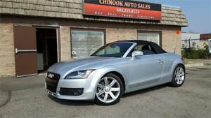 2008 Audi TT 3.2L NAV, LEATHER, 6SPD