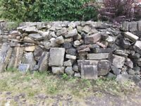 Walling stone (approx 3 tonnes)
