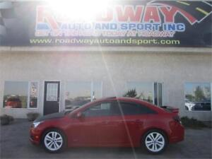 2013 Chevrolet Cruze LT Turbo   PST Paid   Leather   Roof