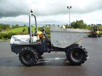 2007 Terex 6 ton site dumper with ROPS & Beacon