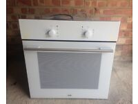 Logik fan assisted built-in oven for sale. £50. Less than 2 years old in good working order.