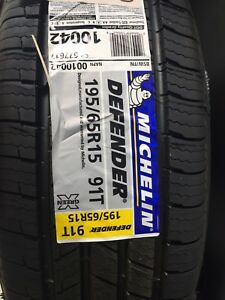 5 brand new 195/65/15 Michelin