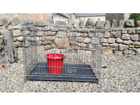 Large dog cage/crate used for German Shepherd