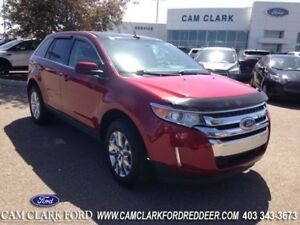 2013 Ford Edge Limited  Moonroof Navigation Drivers Entry