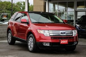 2007 Ford Edge SEL AWD W. Leather, Panoroof & Navigation
