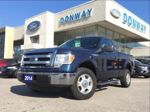 2014 Ford F-150 4X2 REGULAR CAB | 1 OWNER | ONLY 44000 KMS
