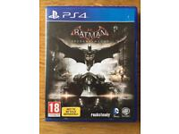 PS4 game batman