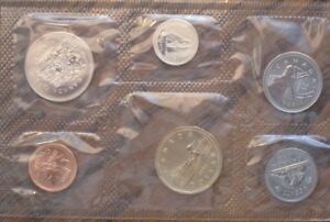 Canada Coin Set – 1996 Brilliant Uncirculated