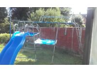 TP climbing frame plus lits of extras
