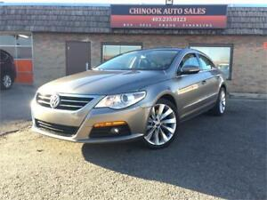 2010 Volkswagen Passat CC Highline V6 4Motion-Nav,Leathr,Sunroof
