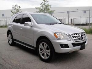 2011 MERCEDES ML350 4MATIC-LOADED,NAVI,REAR CAM,HEATED LEATHER