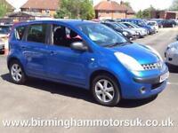 2006 (56 Reg) Nissan Note 1.4 16V SE 5DR Hatchback BLUE + LOW MILES