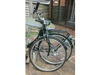 Ladies folding bicycle as new and Unused folds open in 3 seconds RRP £200 so this is a bargain