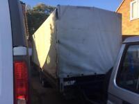 Large twin axle trailer