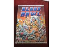 First Edition Blood Bowl Board Game 1986 from Games Workshop