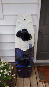 CWB Wakeboard with bindings and boots