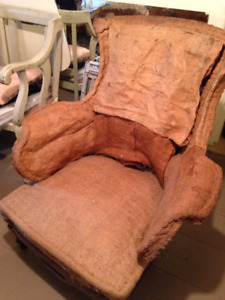 Upholsterers - Antique Turkish Chair